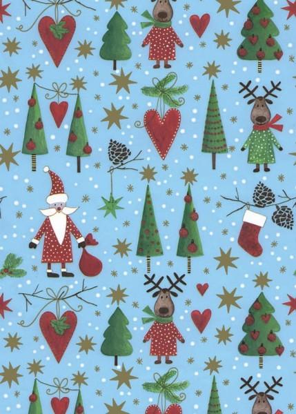 Weihnachtspapier Dessin 49645