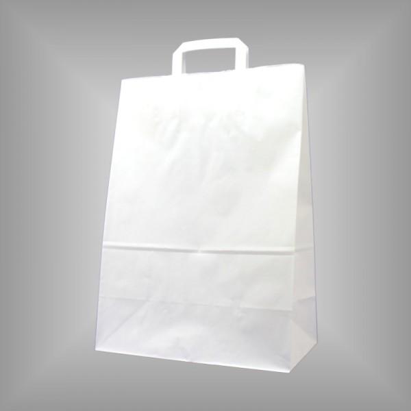 250 Papiertüten weiß 32 x 17 x 44 cm