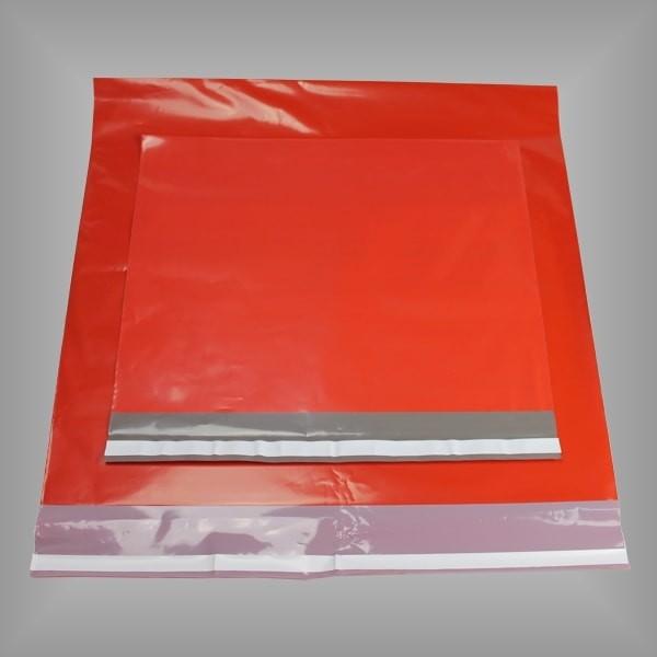 Folienversandtaschen rot