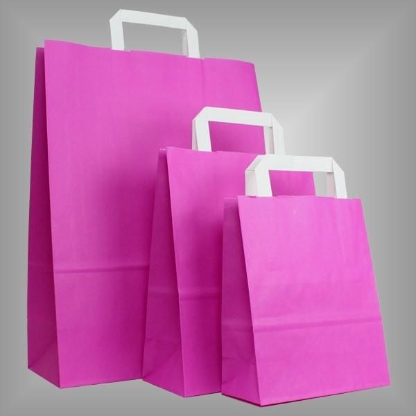 Papiertüten pink