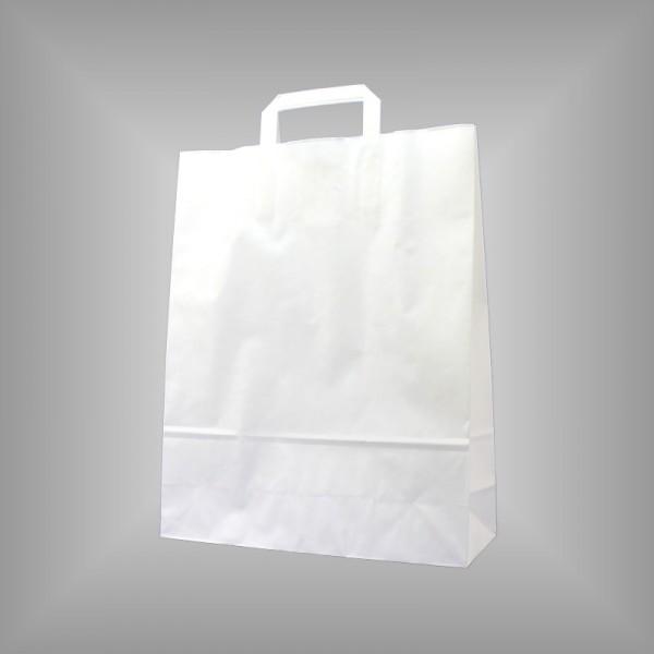 32 x 12 x 40 cm Papiertüten weiß 250 Stück