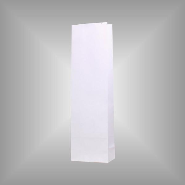 200 Papierblockbodenbeutel weiß