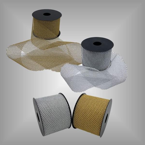 Tüllband metallisiert
