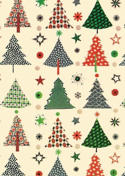 Weihnachtspapier Dessin 49270
