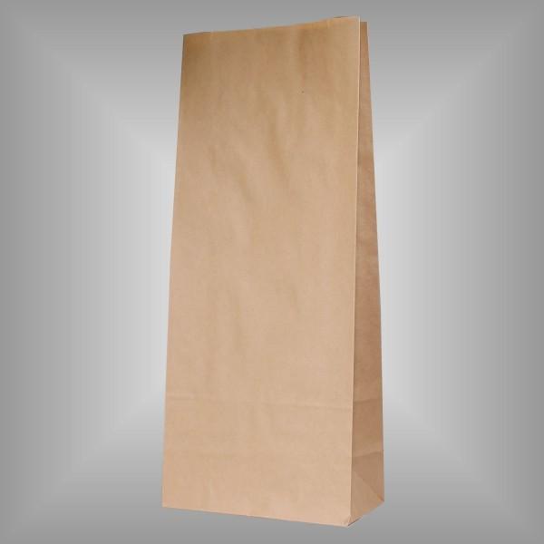 200 Papierblockbodenbeutel braun