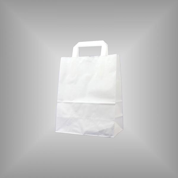 Papiertüten weiß 22 x 10 x 28 cm