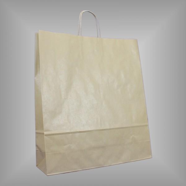 44 x 14 x 50 cm Papiertragetaschen braun 150 Stück
