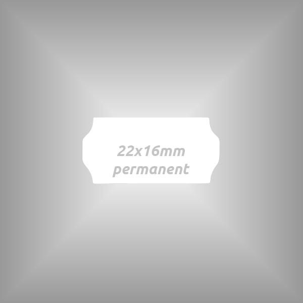 10 Rollen - Etiketten 22 x 16 mm