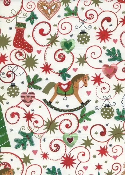 Weihnachtspapier Dessin 49266