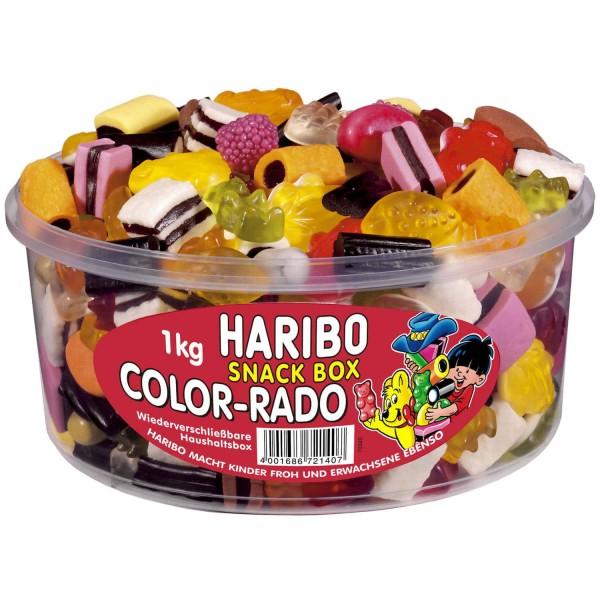Haribo Snack Box, 1000g
